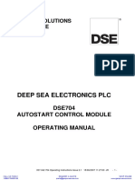 Deep Sea 704 Manual