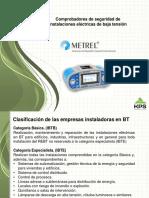 Comprobadores en las instalaciones eléctricas Metrel KPS 2016.pdf
