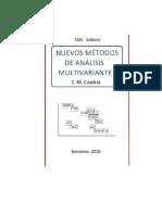 Cuadras - Nuevos métodos de estadística multivariante