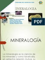 Final Mineralogia