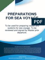Preparation for Sea Voyage