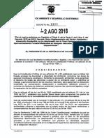 Decreto 1390 Del 02 de Agosto de 2018