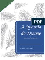 apostila questão Dizimo - Carlos de Jesus Neves
