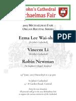 20170624 - Erma_vincent_robin Organ Recital House Programme