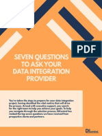 Seven Questions to Ask Your Data Integrations Provider