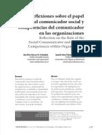 EL PAPEL DEL COMUNICADOR ORGANIZACIONAL