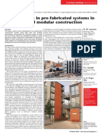 Developments in pre-fabricated systems