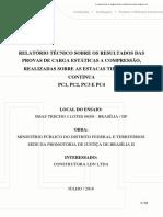 Relatório de Prova de Carga de Fundações