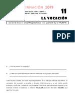 Tema 11 - La Vocación