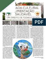Boletim Informativo Educação MST PR - Edição Jornada Cultural Alimentação Saudável