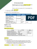TCS 2020 Recruitment Details