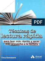 Tecnicas de Lectura Rapida