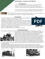Panorama Del Uruguay a Comienzos Del Siglo XX