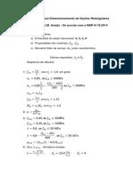 Roteiro para Dimensionamento de Seções Retângulares.pdf