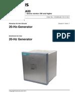 20hz Generator