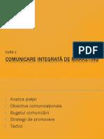 Comunicare In marketinv CURS 2