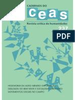 As crises passarão Os Cadernos do CEAS passarinho