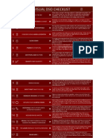 DSO Checklist - by Nilson Bazana
