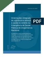 Orientações integradas de vigilância e atenção à saúde no âmbito da Emergência de Saúde Pública de Importância Nacional