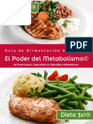 dieta 3x1 lista de alimentos
