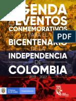 Agenda Eventos 2019-2021 - Bicentenario de la República de Colombia