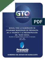 Manual Para Elaboración de Programas Municipales