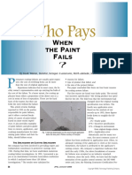 Who Pays When Paint Fails