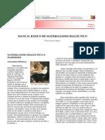 Mód I Lect 2 Manual Basico de Materialismo Dialectico