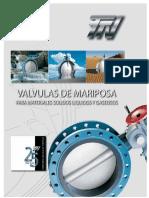 Válvulas de Mariposa - Catálogo TTV
