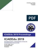 ICAEEdu 2019 Proceedings