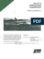 Piper Seneca II POH