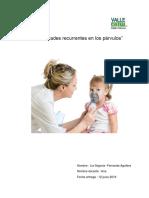 Informe Enfermedades Recurrentes en Los Parvulos