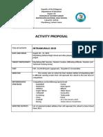 Intrams 2019 Activity Proposal