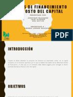 Fuentes de Financimiento y El Costo Del Capital (1)