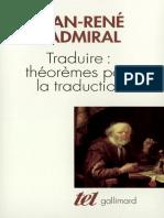 traduire Théoremes Pour La Traduction