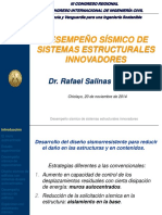 Desempeño Sismico de Sistemas Estructurales Innovadores