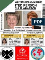 Marcia Wharton Arrest Warrant