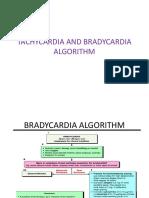 Tachycardia and Bradycardia Algorithm