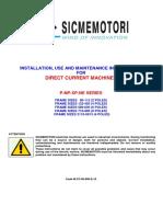 SicmeMotori Manual P NP NE Eng