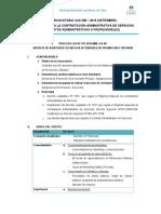 Convocatoria SETIEMBRE 2019 - Administrativos