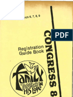 RECongress 1980 Registration Guidebook