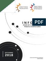 Latam. Estado de La Regulación de Las Fintech - Septiembre 2018