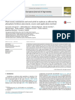 1.Plant Stand, Nodulation and Seed Yield in Soybean as Affected by Phosphate Fertilizer Placement, Source and Application Method