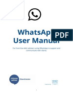 WhatsApp User Manual Final