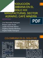 Producción Colombiana en El Siglo XIX