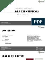 Pósteres científicos
