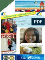 Newsletter October Newsletter October 2010