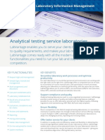 The Right Lims for Analytical Testing Service Laboratories Labvantage