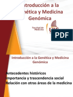 1 Introducción a La Genética y Medicina Genómica