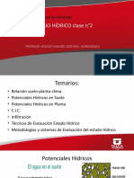 Clase Manejo Hídrico n°2